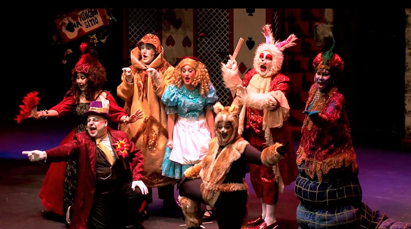 Alicia En El Pais De Las Maravillas El Musical La Maquineta